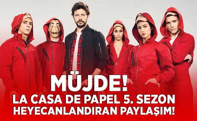 La Casa De Papel 5. sezon bekleyenlere müjde! Profesörden 5. sezon açıklaması!