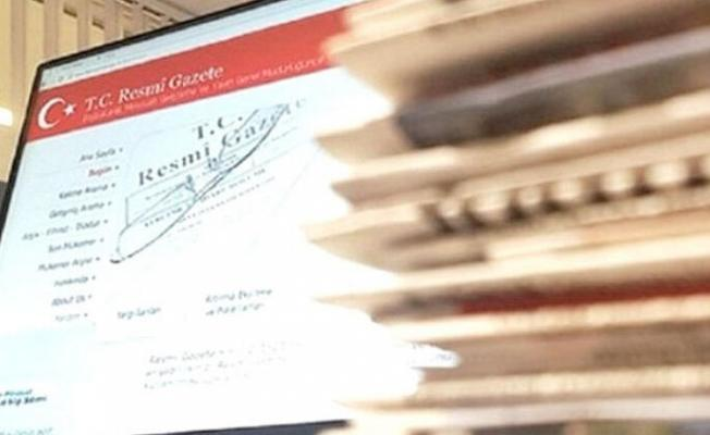 Resmi Gazete'de Yeni Cumhurbaşkanlığı kararları yayımlandı
