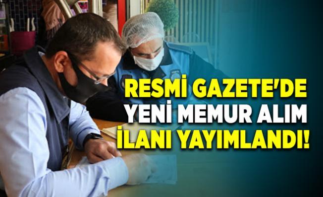 Resmi Gazete'de zabıta memur alım ilanı yayımlandı!