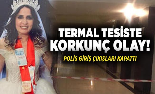 Sakarya'da termal tesiste korkunç olay! Polis giriş çıkışları kapattı