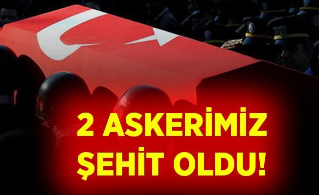 Son dakika Hakkari Çukurca'da 2 askerimiz şehit düştü!