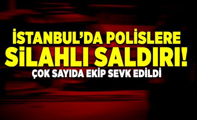 Son dakika haberi...İstanbul'da polislere silahlı saldırı! Çok sayıda ekip sevk edildi