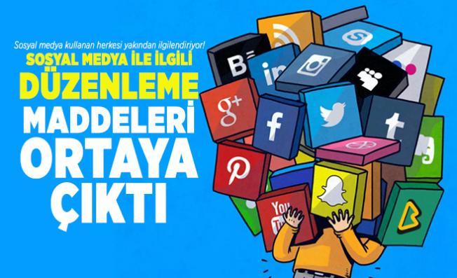 Sosyal medya kullanan herkesi yakından ilgilendiriyor! Sosyal medya ile ilgili düzenleme maddeleri ortaya çıktı