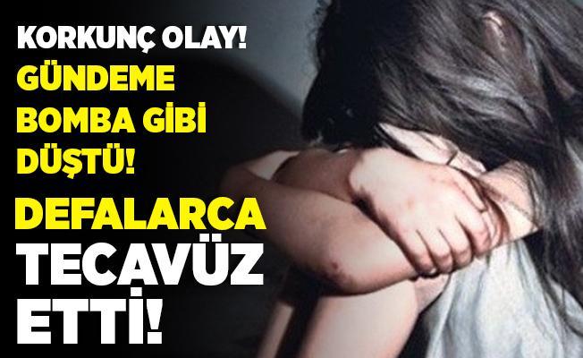 Tüm Türkiye'yi şoke eden iddia! Eve sürükledi, defalarca tecavüz etti! Sosyal medyayı ayağa kaldırdı!