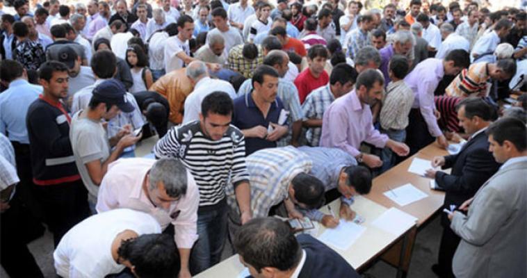 Türkiye tarihinin en büyük işsizliği!