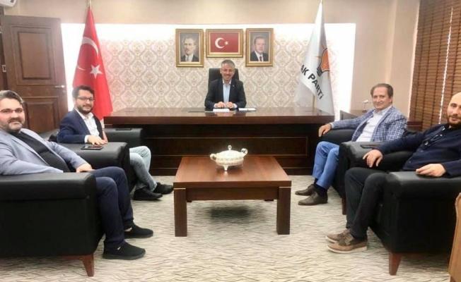 Valilik tarafından açıklanması gereken atamalar AKP il başkanı tarafından açıklandı!