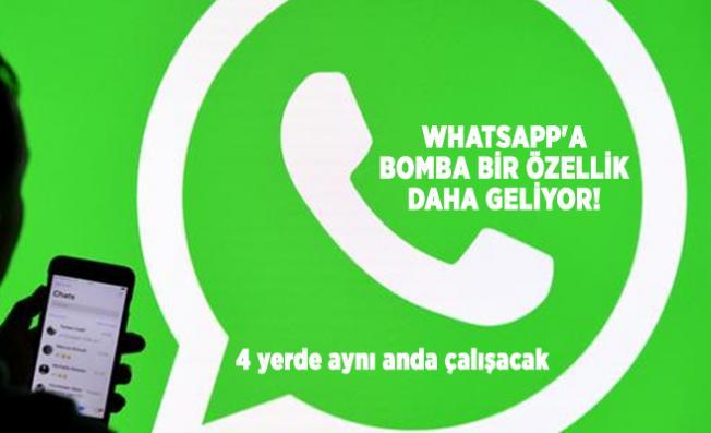 WhatsApp'a bomba bir özellik daha geliyor! 4 yerde aynı anda çalışacak