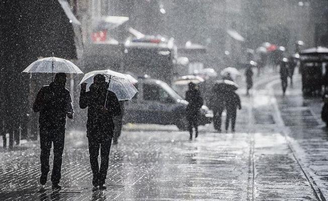 5 gün sürecek kuvvetli sağanak yağış uyarısı! İllere göre 5 günlük hava durumu tahmin raporu