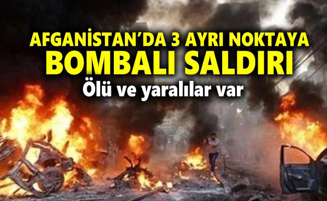 Afganistan'da peş peşe bombalı saldırı! Ölü ve yaralılar var