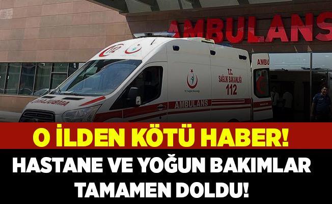 Belediye başkanından korkutan açıklama! Hastaneler ve yoğun bakımlar tamamen doldu!