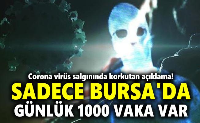 Corona virüs salgınında korkutan açıklama! Sadece Bursa'da günlük 1000 vaka var