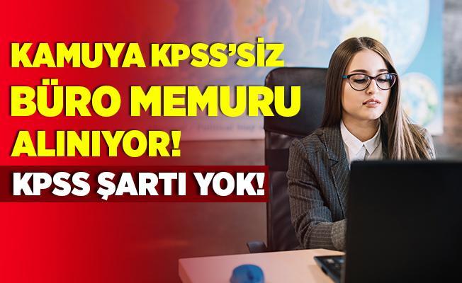 Emniyet Müdürlüğü'ne kadrolu büro memuru alınıyor! KPSS şartı yok! 18 - 35 yaş arasındaki adaylar başvurabilir!