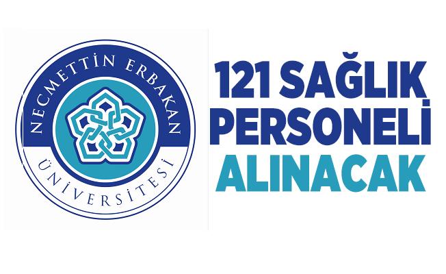 En az önlisans mezunu Necmettin Erbakan Üniversitesi 121 sağlık personeli alımı yapacak!