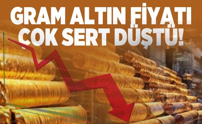 Gram altın fiyatı çok sert düştü! Altına yatırım yapacaklar dikkat!