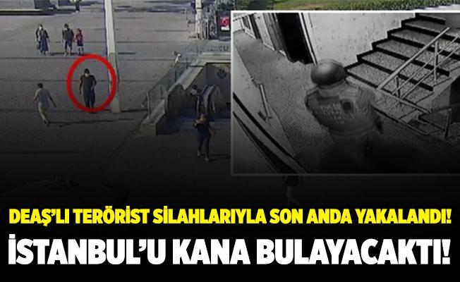İstanbul'u kana bulayacaklardı! Eylem hazırlığındaki terörist son anda yakalandı! İşte o anlar