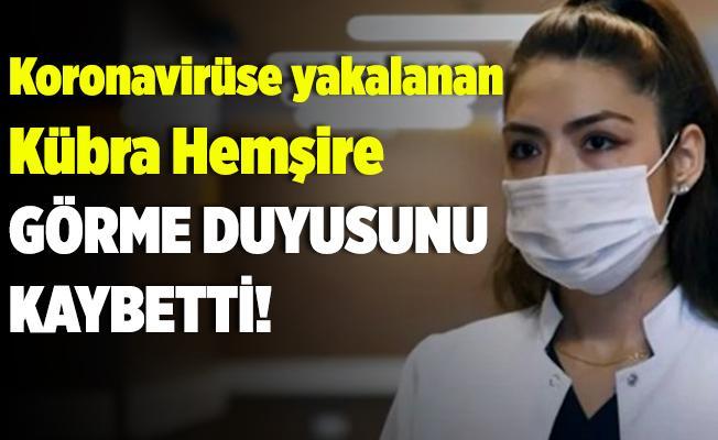 Koronavirüsle mücadele eden Hemşire Kübra Aslankılıç görme duyusunu kaybetti!