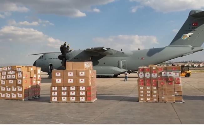 Lübnan'a bir uçak dolusu tıbbi malzeme yardımı gönderiliyor!