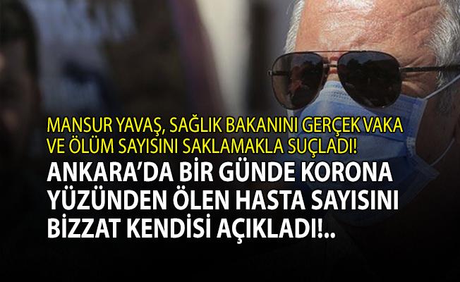 Mansur Yavaş korona yüzünden Ankara'da ölenlerin sayısını açıkladı!