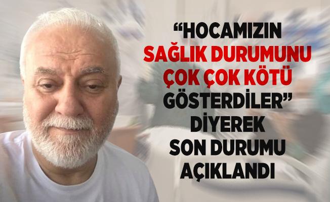Nihat Hatipoğlu'nun sağlık durumunu oğlu Osman Hatipoğlu açıkladı!