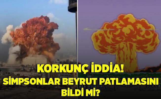 Simpsonlar Beyrut patlamasını da bildi! Gündeme bomba gibi düştü! İşte o sahne..