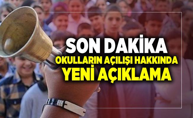Son dakika Bilim Kurulu Üyesi Prof. Dr. Tevfik Özlü'den okulların açılış tarihi hakkında yeni açıklama!