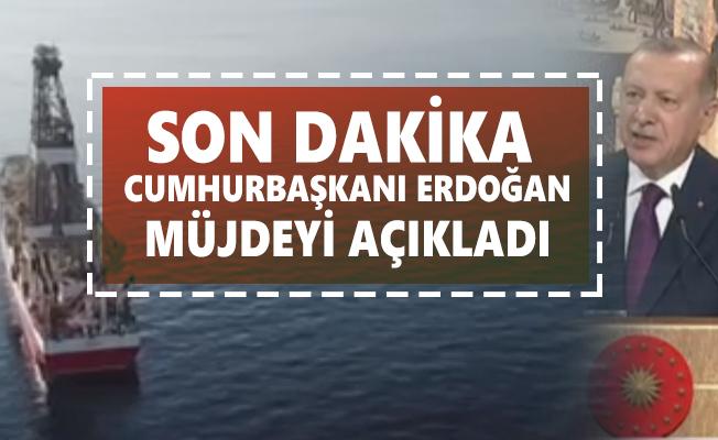 Son dakika Cumhurbaşkanı Erdoğan müjdeyi açıkladı