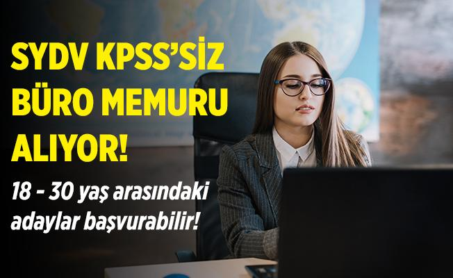 Sosyal Yardımlaşma ve Dayanışma Vakfına büro memuru alınıyor! KPSS şartı aranmayacak! 18 - 30 yaş aralığındaki herkes başvurabilir!