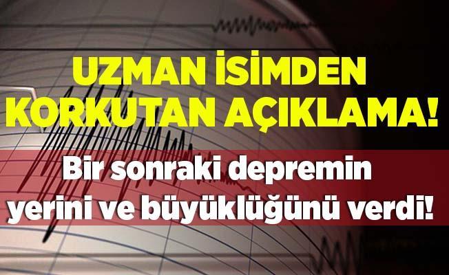 Uzman isim Malatya depreminin ardından bir sonraki depremin yerini ve büyüklüğünü söyledi!