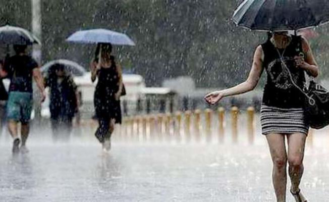 Valilikten gök gürültülü sağanak yağış uyarısı yapıldı!