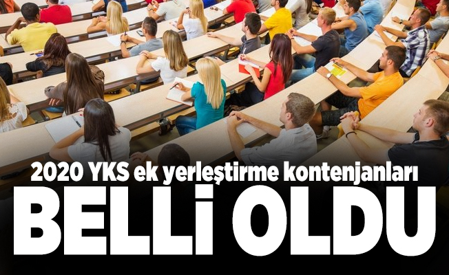 YKS sonuçlarının ardından ÖSYM Başkanı Aygün'den son dakika açıklaması! 2020 YKS ek yerleştirme kontenjanları belli oldu