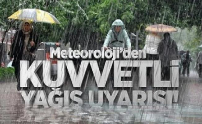 17 il için kuvvetli sağanak yağış uyarısı! 14 Eylül illere göre hava durumu ve günün en yüksek hava sıcaklığı