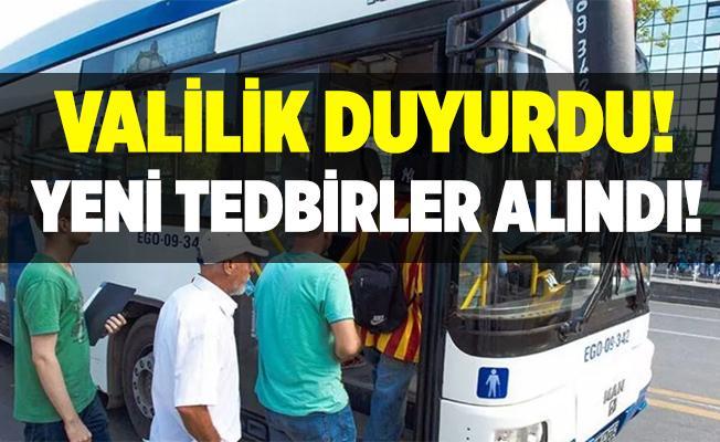 Ankara'da yeni koronavirüs tedbirleri alındı!