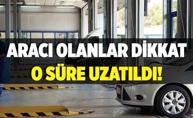 Aracı olan herkesi yakından ilgilendiriyor! TÜRVTÜRK'ten muayene süreleriyle ilgili açıklama geldi!