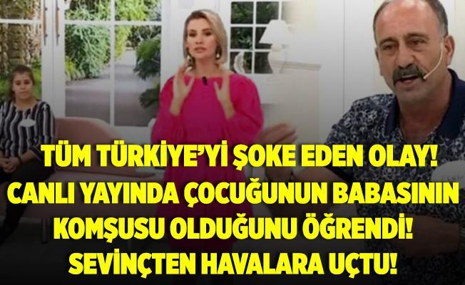 """ATV Esra Erol'da tüm Türkiye'yi şoke eden olay! Çocuğunun babasının komşusu olduğu öğrenen kadın, kocasının yanında, """"Şükür elhamdülillah diyorum"""" dedi!"""