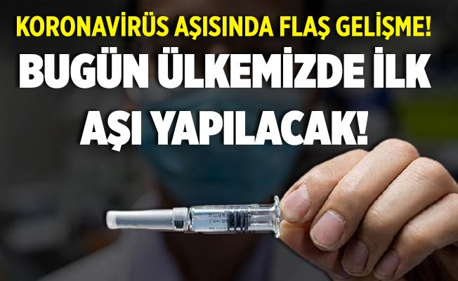Beklenen gün geldi! Bugün ülkemizde ilk koronavirüs aşısı uygulanıyor! İşte aşı uygulaması yapılacak iller..