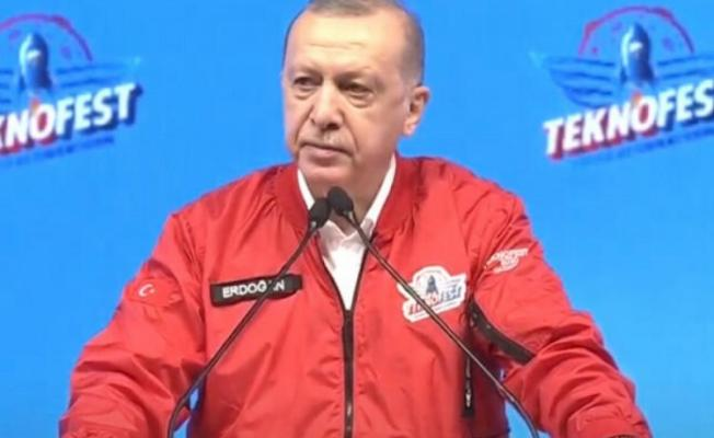"""Cumhurbaşkanı Erdoğan: """"Benzer başarıyı otomobil ve uçan arabalarda yakalayacağız."""""""