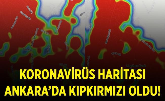 En çok vakanın olduğu ilde korkutan tablo! Koronavirüs haritası kıpkırmızı oldu!