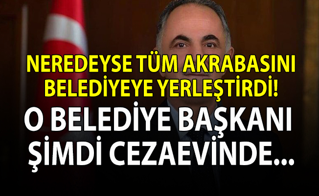 Horasan İlçe Belediye Başkanı Abdulkadir Aydın cezaevine konuldu!