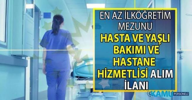 İŞKUR online başvuru ile 14 şehirde 252 hastane personeli alımı yapılacak!
