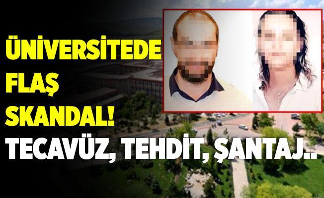 Konya Selçuk Üniversitesi'nde yasak aşk skandalı! Gerçek bambaşka çıktı! Tecavüz, tehdit, şantaj..