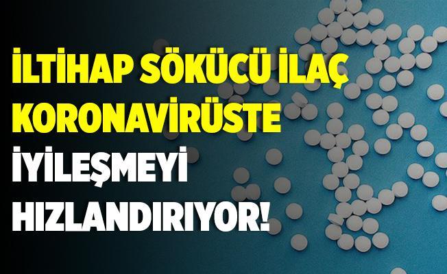 Koronavirüste sevindiren gelişme! İltihap sökücü ilaç iyileşmeyi hızlandırıyor!