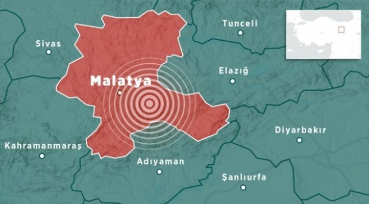 Malatya'da saat 15:39'da deprem! 8 Eylül 2020 son deprem listesi!