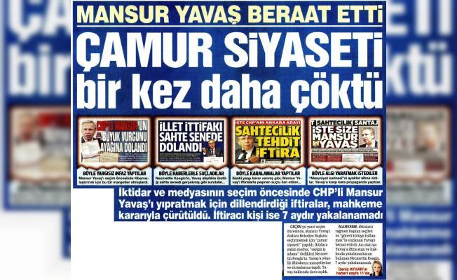 Mansur Yavaş hakkında ki iddiaların iftira olduğu kanıtlandı! Şimdi kim utanacak?