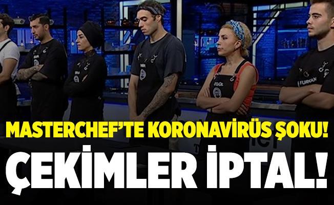 MasterChef Türkiye'ye koronavirüs şoku! Çekimler iptal oldu!