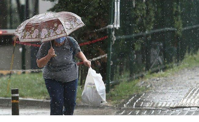 Meteoroloji az önce duyurdu! Kuvvetli gök gürültülü sağanak yağış geliyor!