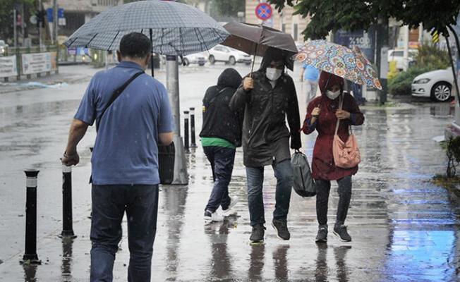 Meteoroloji duyurdu: Bugün gök gürültülü sağanak yağış var!