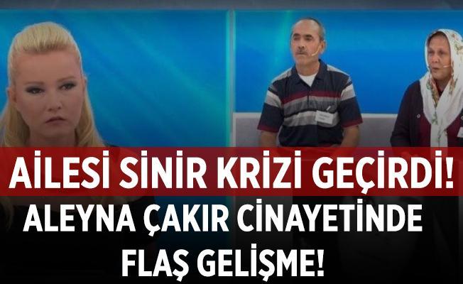Müge Anlı Aleyna Çakır cinayetinde yeni gelişme yaşandı! Aile canlı yayında sinir krizi geçirdi!