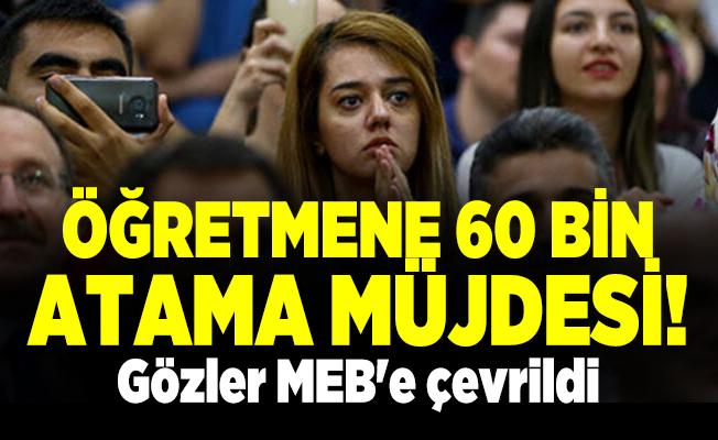 Öğretmen adayları sosyal medyayı salladı! Öğretmene 60 bin atama müjdesi! Gözler MEB'e çevrildi