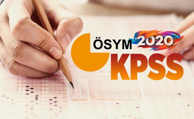 ÖSYM 2020 KPSS Ortaöğretim başvuruları 30 Eylül'de sona eriyor! https://ais.osym.gov.tr/ başvuru