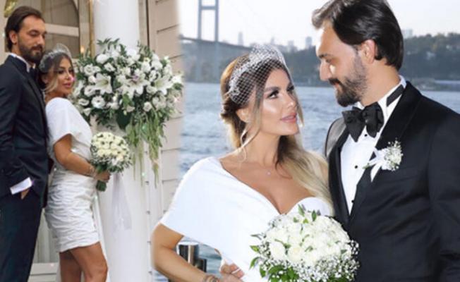 Oyuncu Tuğçe Özbudak ve Melikhan Kılıçarslan evlendi!